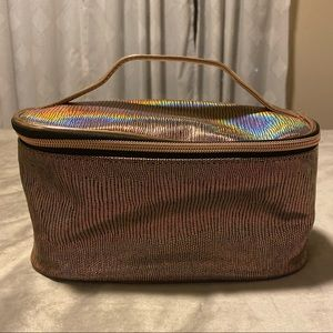 Pink holographic make up bag -FREE w/any purchase